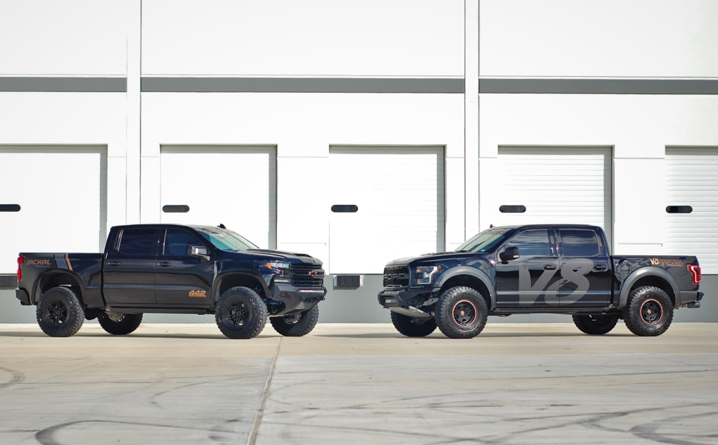 2020 Chevy Jackal VS 2020 Ford F-150 Raptor