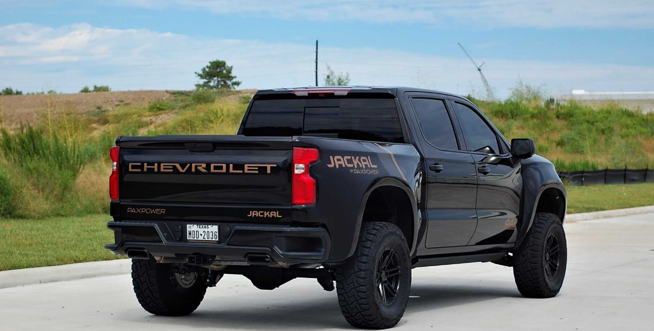 2020 Chevy Silverado Jackal Engine