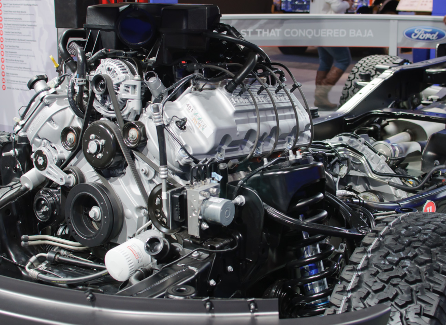 2020 Ford F-150 Raptor Engine